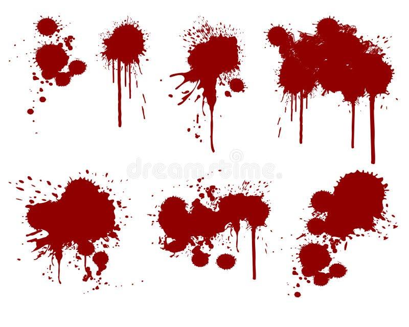 μελάνι 04 splatter ελεύθερη απεικόνιση δικαιώματος