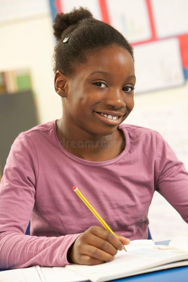μελέτη μαθητριών τάξεων στοκ φωτογραφία με δικαίωμα ελεύθερης χρήσης