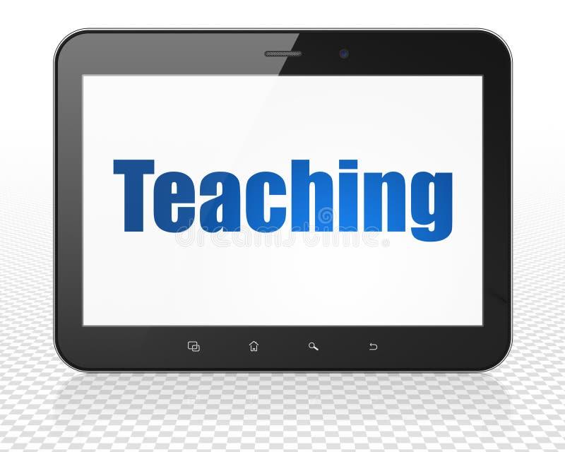Μελέτη της έννοιας: Υπολογιστής PC ταμπλετών με τη διδασκαλία στην επίδειξη απεικόνιση αποθεμάτων
