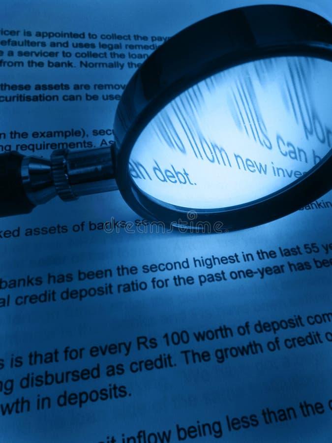 μελέτη χρημάτων χρεών στοκ εικόνα με δικαίωμα ελεύθερης χρήσης
