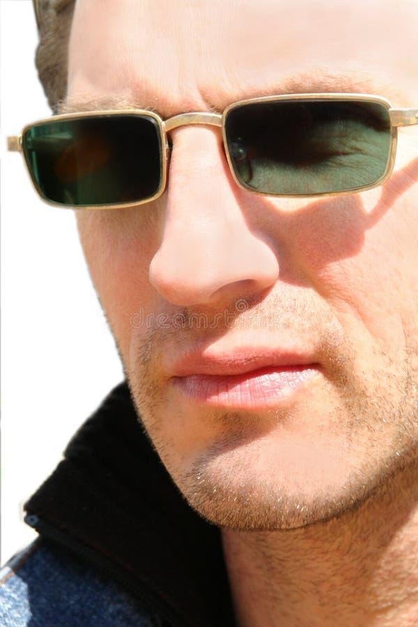 μελαχροινό άτομο γυαλιών στοκ εικόνα με δικαίωμα ελεύθερης χρήσης