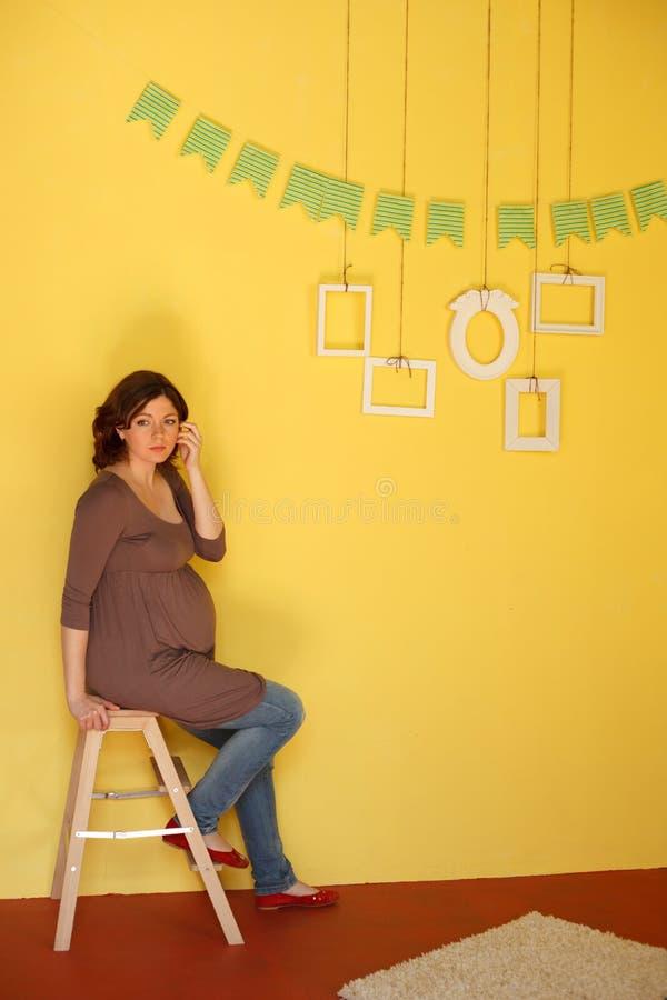 Μελλοντική οικογένεια στοκ εικόνες με δικαίωμα ελεύθερης χρήσης