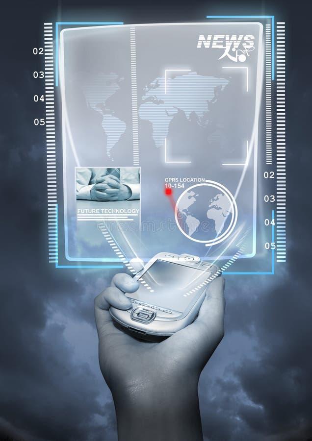 μελλοντική τεχνολογία στοκ εικόνες με δικαίωμα ελεύθερης χρήσης