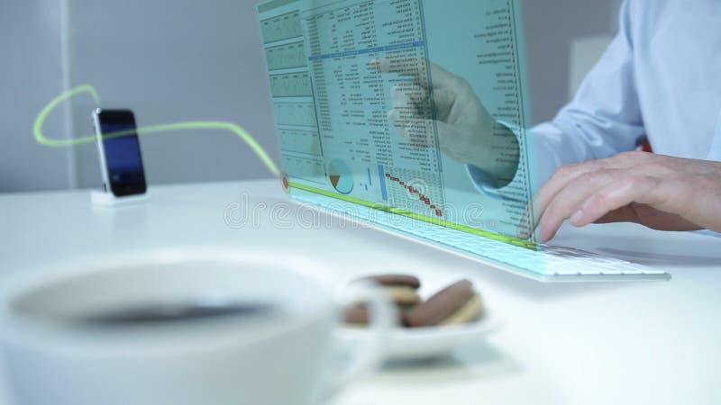 μελλοντικός εργαζόμεν&omicron στοκ φωτογραφίες