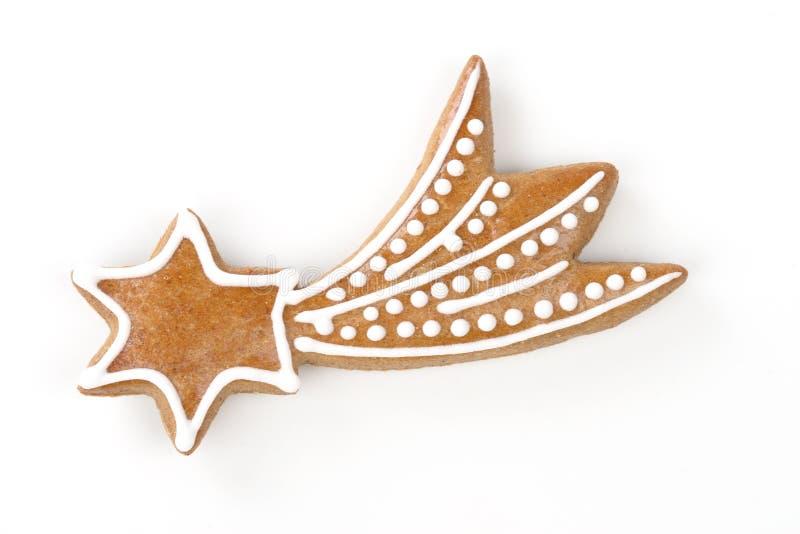 μελόψωμο μπισκότων Χριστ&omicron στοκ εικόνες