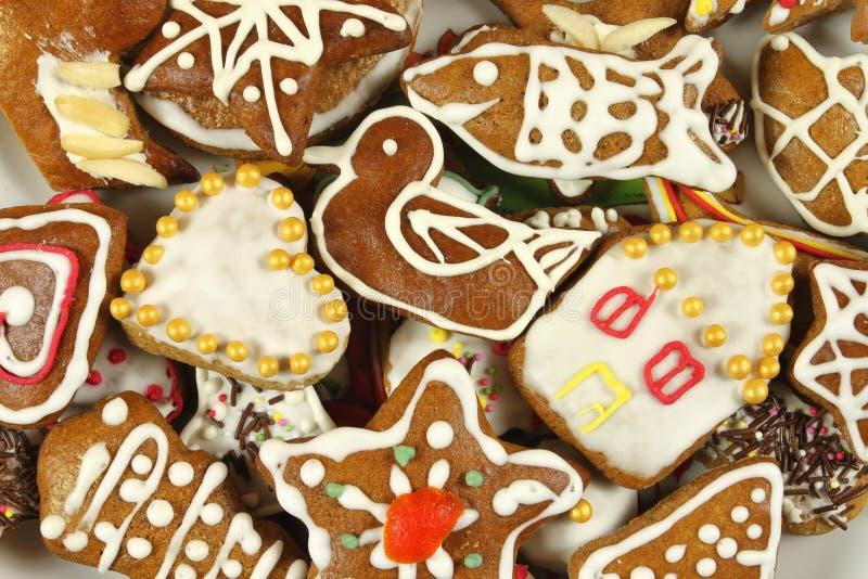 μελόψωμο μπισκότων στοκ φωτογραφία