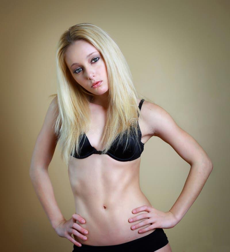 μεμβρανοειδής γυναίκα στοκ φωτογραφία