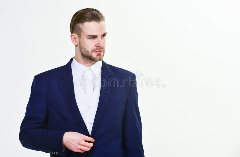 Μεμονωμένη επιχείρηση επιχειρηματιών Το άτομο εκαλλώπισε καλά άσπρο υπόβαθρο επιχειρησιακών το επίσημο κοστουμιών Επιχειρησιακό ά στοκ εικόνες
