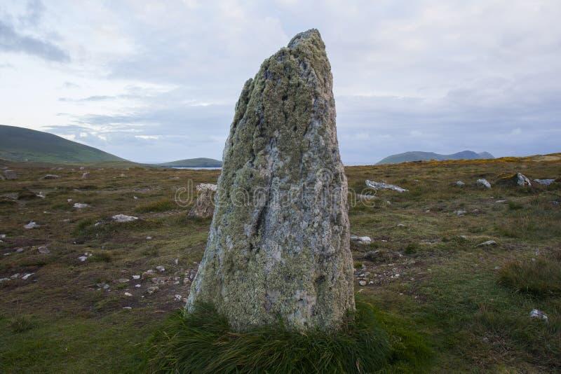 Μενίρ, Dingle χερσόνησος, Ιρλανδία στοκ φωτογραφία