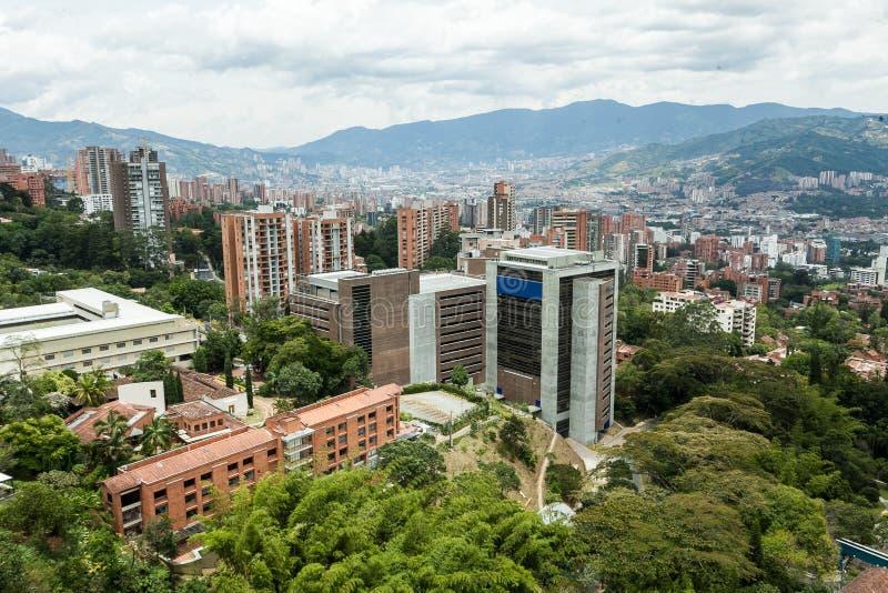 Μεντελίν, Αντιόχεια/Κολομβία· 31 Αυγούστου 2019: γειτονιά λέγεται el poblado στοκ εικόνες