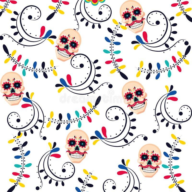 Μεξικάνικα κινούμενα σχέδια του Μεξικού πολιτισμού ελεύθερη απεικόνιση δικαιώματος