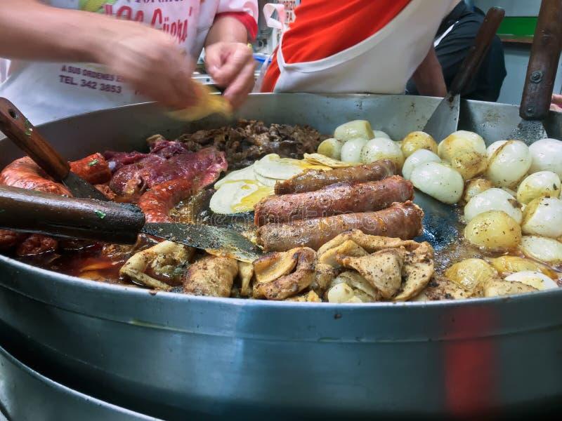 Μεξικάνικα τρόφιμα οδών στοκ φωτογραφία