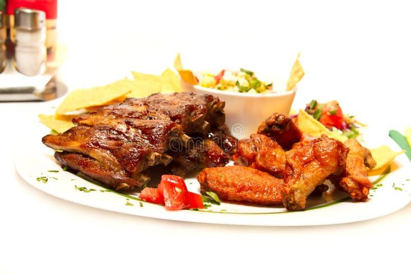 Μεξικάνικα τρόφιμα στοκ εικόνα