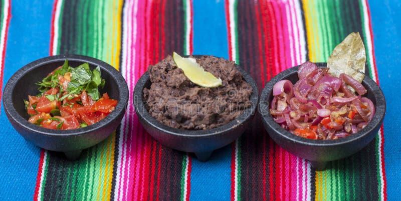 Μεξικάνικα salsas στοκ εικόνες