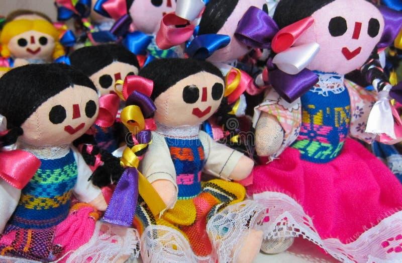 Μεξικάνικες κούκλες στοκ εικόνα με δικαίωμα ελεύθερης χρήσης