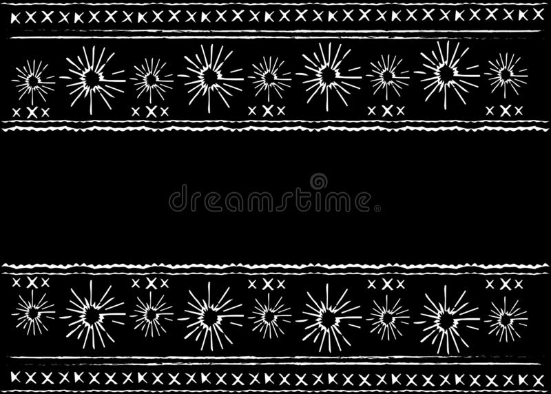 Μεξικάνικη εθνική κεντητική, φυλετικό εθνικό σχέδιο τέχνης Λαϊκή αφηρημένη γεωμετρική σύσταση υποβάθρου επανάληψης, διανυσματικό  απεικόνιση αποθεμάτων