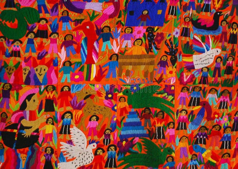 Μεξικάνικη επιτροπή κεντητικής στοκ εικόνα