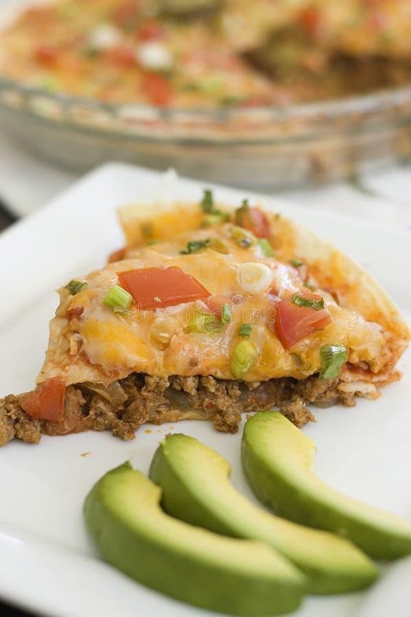 μεξικάνικη πίτσα στοκ φωτογραφία