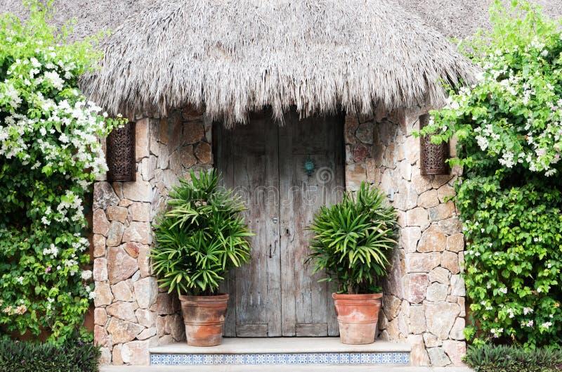 Μεξικάνικη πόρτα στοκ φωτογραφία
