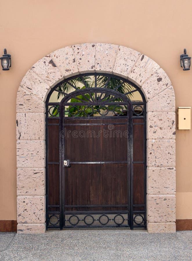 Μεξικάνικη πόρτα στοκ εικόνες