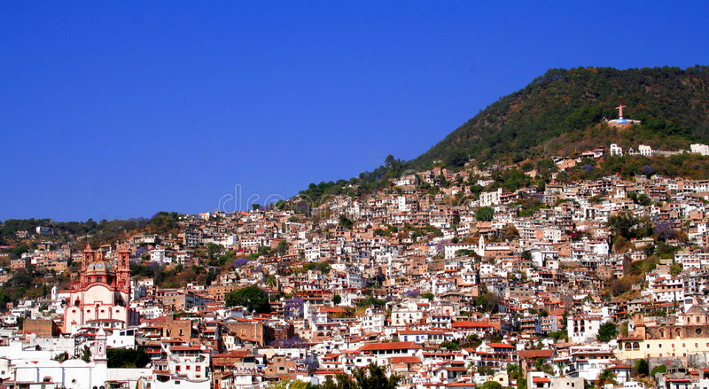 Μεξικάνικη όψη πόλεων στοκ φωτογραφία με δικαίωμα ελεύθερης χρήσης