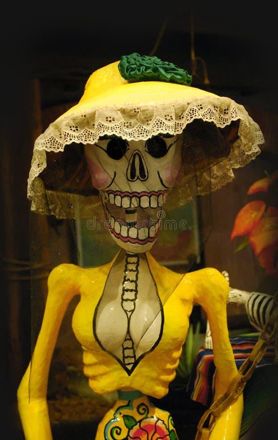 Μεξικάνικος σκελετός στοκ φωτογραφίες με δικαίωμα ελεύθερης χρήσης