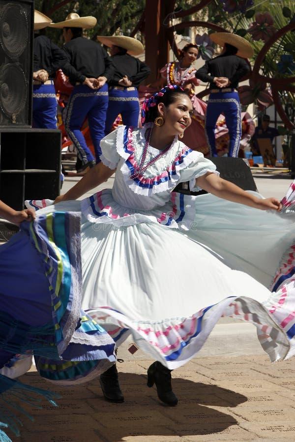 Μεξικάνικος χορευτής στοκ φωτογραφίες με δικαίωμα ελεύθερης χρήσης