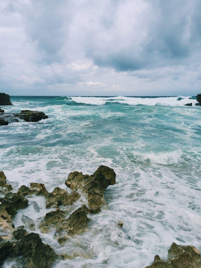 Μεξικάνικος ωκεανός στοκ εικόνα με δικαίωμα ελεύθερης χρήσης