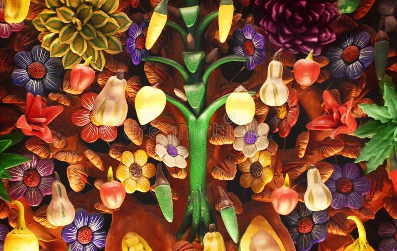 Μεξικάνικο δέντρο της ζωής στοκ φωτογραφία με δικαίωμα ελεύθερης χρήσης