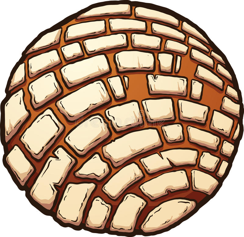 Μεξικάνικο γλυκό ψωμί ελεύθερη απεικόνιση δικαιώματος