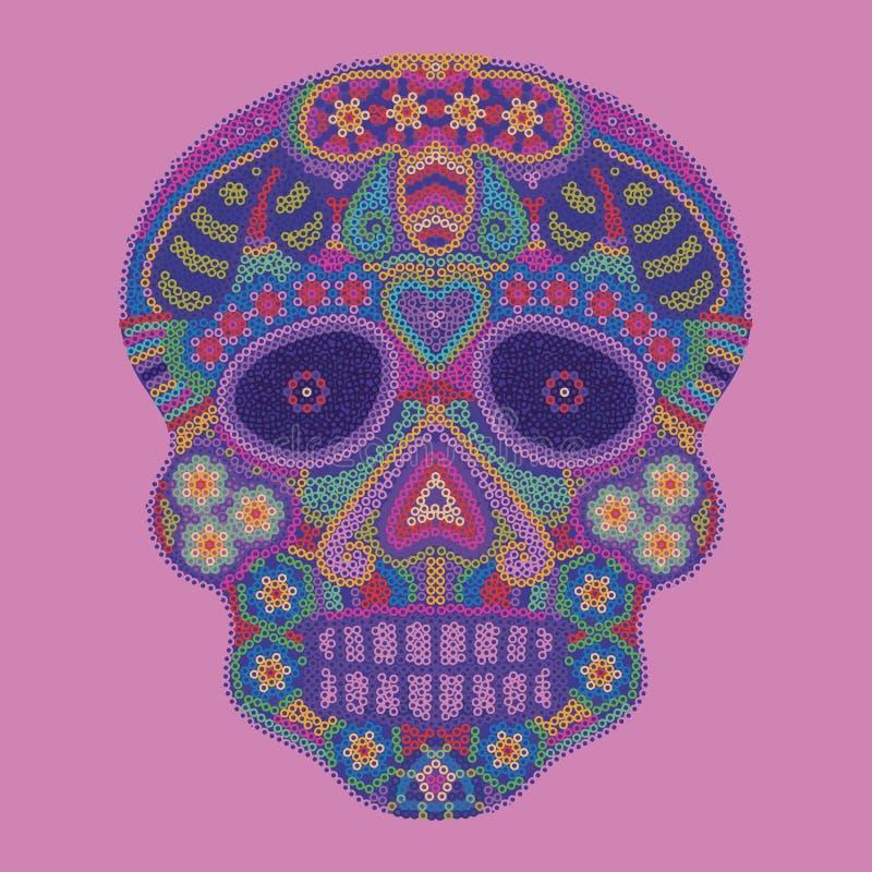 Μεξικάνικο κεφάλι στοκ εικόνες