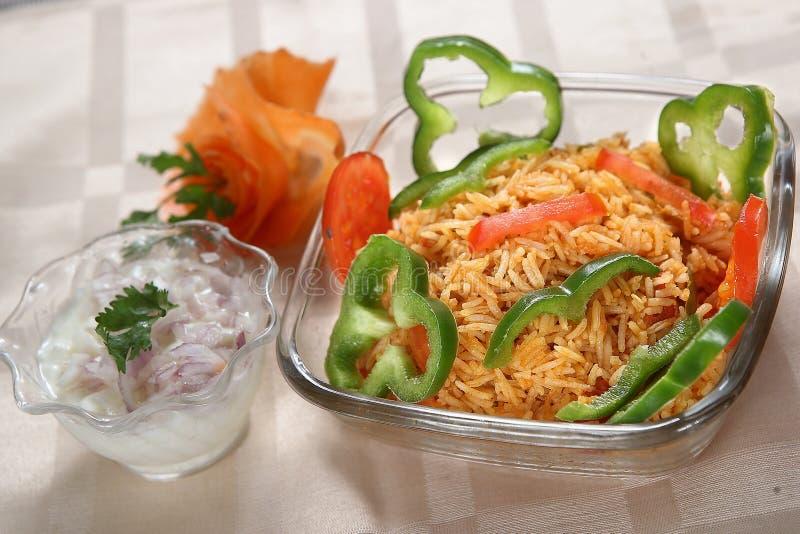 Μεξικάνικο ρύζι, απλό μεξικάνικο ρύζι στοκ εικόνες με δικαίωμα ελεύθερης χρήσης