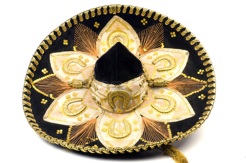 μεξικάνικο σομπρέρο καπέλων στοκ εικόνες