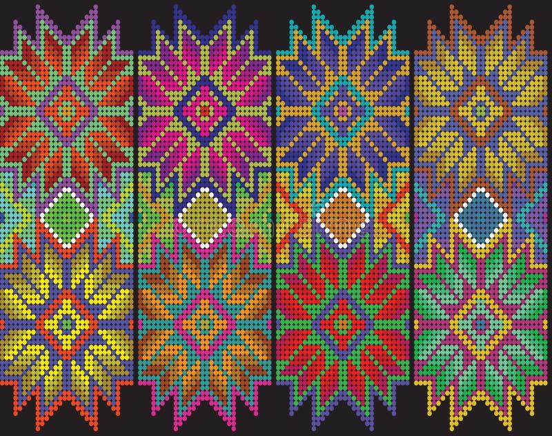 Μεξικάνικο floral σχέδιο στοκ φωτογραφίες με δικαίωμα ελεύθερης χρήσης