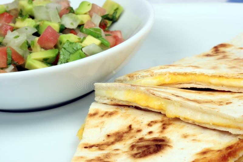 μεξικάνικο quesadilla στοκ φωτογραφία με δικαίωμα ελεύθερης χρήσης