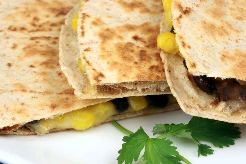 μεξικάνικο quesadilla στοκ εικόνα με δικαίωμα ελεύθερης χρήσης