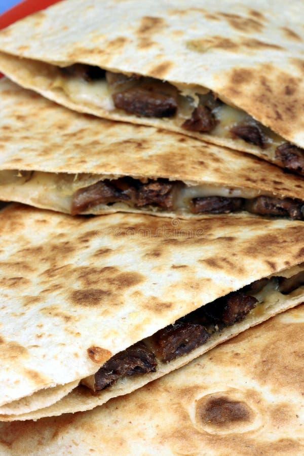 μεξικάνικο quesadilla στοκ φωτογραφίες με δικαίωμα ελεύθερης χρήσης