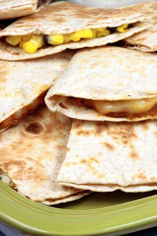 μεξικάνικο quesadilla στοκ εικόνες