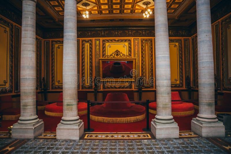 ΜΕΞΙΚΟ - 24 ΣΕΠΤΕΜΒΡΊΟΥ: Όμορφο διακοσμημένο δωμάτιο μέσα Juare στοκ φωτογραφία με δικαίωμα ελεύθερης χρήσης
