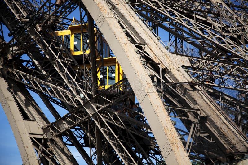 μερική όψη πύργων ανελκυστ στοκ εικόνα με δικαίωμα ελεύθερης χρήσης