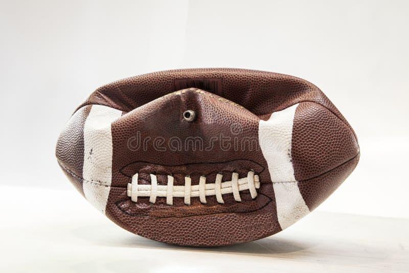 Μερικώς ποδόσφαιρο Delfated στοκ εικόνα