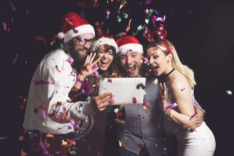 Μεσάνυχτα selfie στοκ φωτογραφία