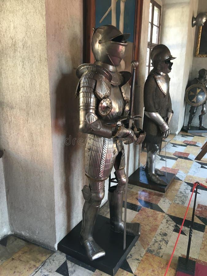 Τεθωρακισμένο ιπποτών στοκ εικόνα με δικαίωμα ελεύθερης χρήσης