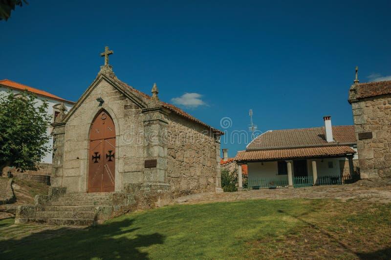 Μεσαιωνικά παρεκκλησια Αγίου Anthony και Calvary στοκ φωτογραφίες