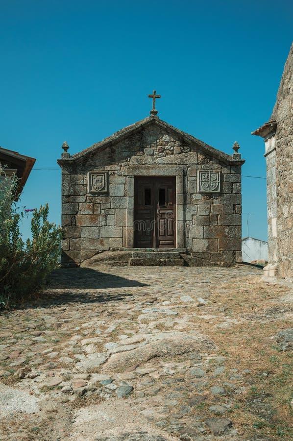 Μεσαιωνικά παρεκκλησια Αγίου Anthony και Calvary σε Belmonte στοκ εικόνες με δικαίωμα ελεύθερης χρήσης