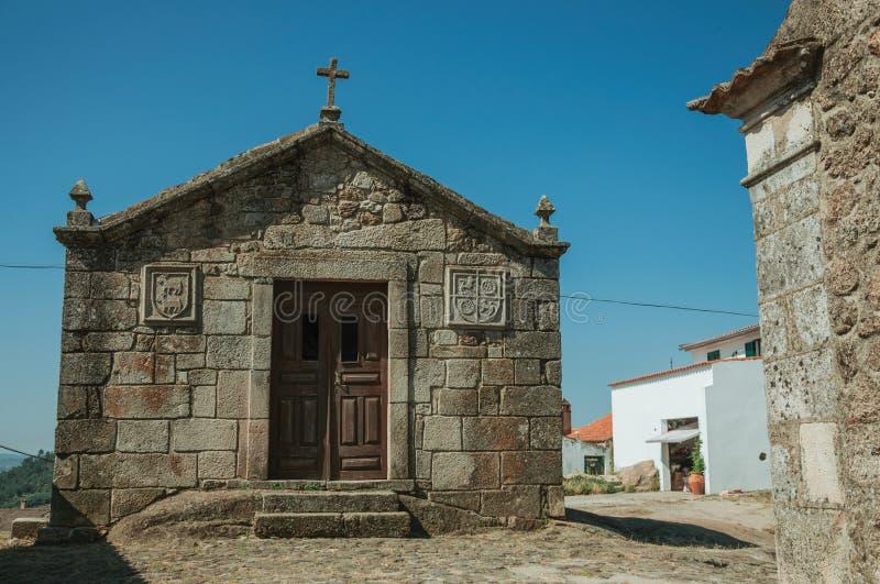 Μεσαιωνικά παρεκκλησια Αγίου Anthony και Calvary σε Belmonte στοκ φωτογραφίες με δικαίωμα ελεύθερης χρήσης