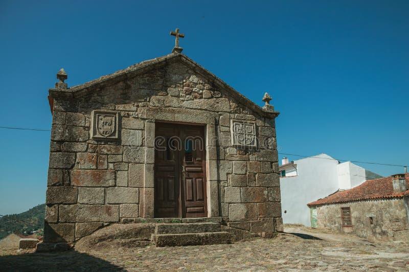 Μεσαιωνικά παρεκκλησια Αγίου Anthony και Calvary σε Belmonte στοκ φωτογραφία