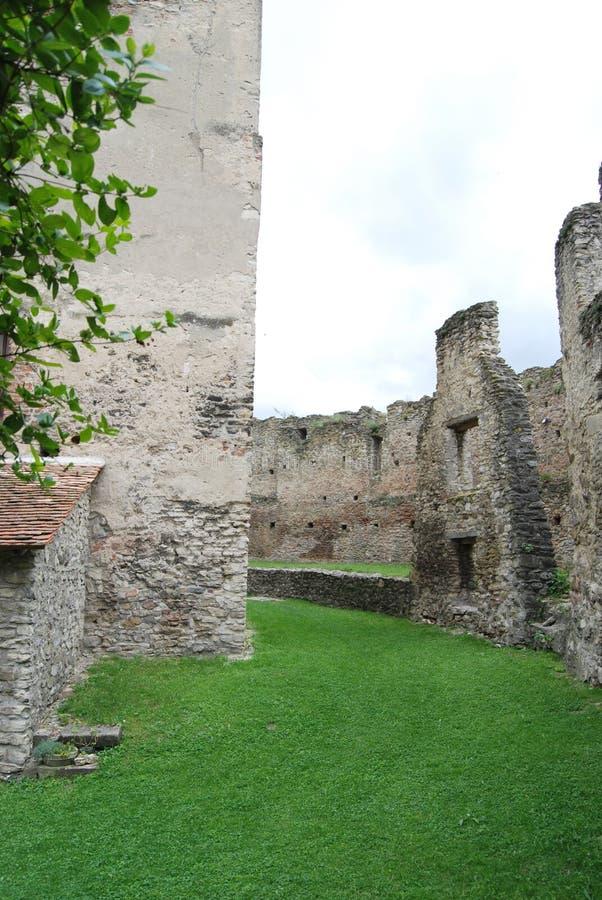 Μεσαιωνικές καταστροφές φρουρίων στοκ εικόνες με δικαίωμα ελεύθερης χρήσης