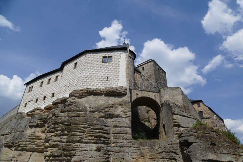 Μεσαιωνική άποψη Kost κάστρων στοκ φωτογραφία με δικαίωμα ελεύθερης χρήσης