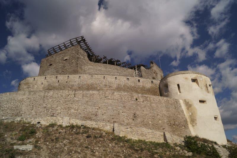 Μεσαιωνική ακρόπολη Deva - της Ρουμανίας στοκ εικόνες με δικαίωμα ελεύθερης χρήσης